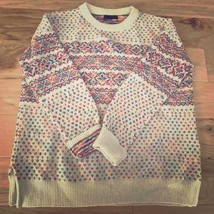 J. Crew Medium Fair Isle Wool Sweater *Like New*